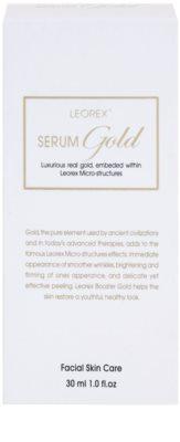 Leorex  Gold sérum facial com ouro 3