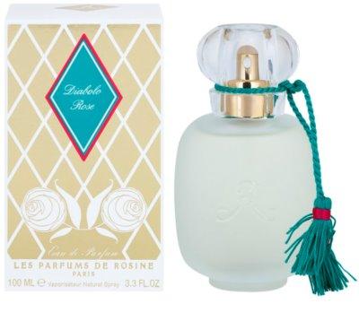 Les Parfums de Rosine Diabolo Rose Eau de Parfum für Damen