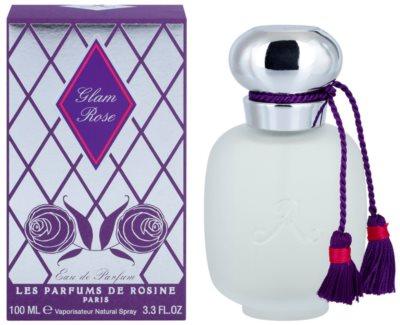 Les Parfums de Rosine Glam Rose parfémovaná voda pro ženy