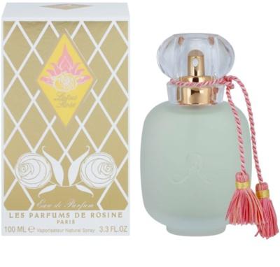Les Parfums de Rosine Lotus Rose Eau de Parfum para mulheres