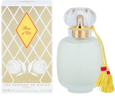 Les Parfums de Rosine Rose d´Eté Eau de Parfum para mulheres