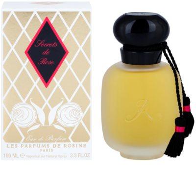 Les Parfums de Rosine Secrets de Rose Eau de Parfum für Damen