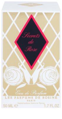 Les Parfums de Rosine Secrets de Rose eau de parfum nőknek 4