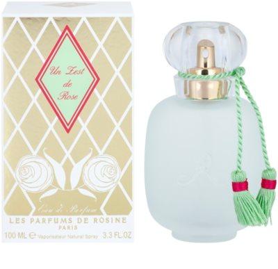 Les Parfums de Rosine Un Zest de Rose Eau De Parfum pentru femei