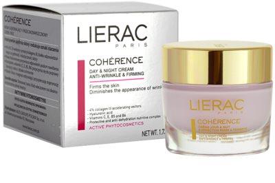 Lierac Cohérence Tages- und Nachtscreme gegen Falten 1
