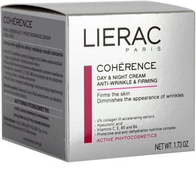 Lierac Cohérence nappali és éjszakai ránctalanító krém 2