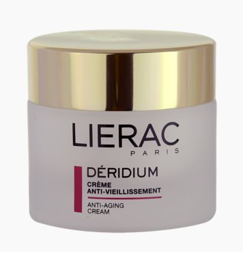 Lierac Deridium Tages- und Nachtscreme gegen Falten für normale Haut und Mischhaut