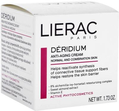 Lierac Deridium Tages- und Nachtscreme gegen Falten für normale Haut und Mischhaut 2