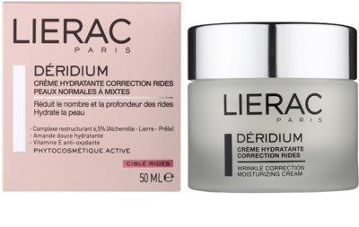 Lierac Deridium creme de dia e noite hidratante com efeito antirrugas para pele normal a mista 1