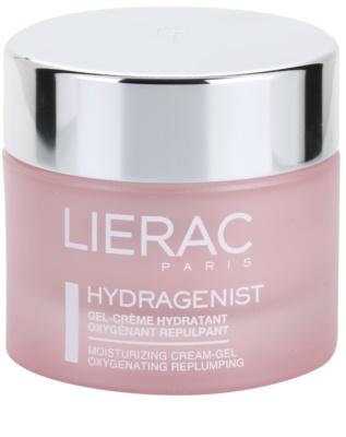 Lierac Hydragenist crema-gel hidratanta cu oxidant anti-imbatranire pentru piele normala si mixta