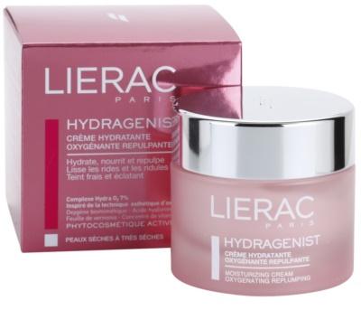 Lierac Hydragenist crema antienvejecimiento hidratante y oxigenante  para pieles secas y muy secas 3