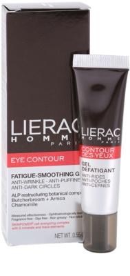 Lierac Homme Augenpflege gegen Schwellungen und Augenschatten für Herren 1