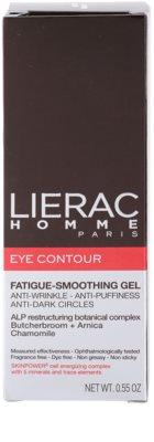 Lierac Homme Augenpflege gegen Schwellungen und Augenschatten für Herren 3