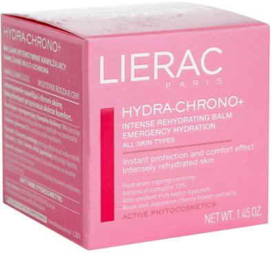 Lierac Hydra-Chrono+ зволожуючий бальзам для всіх типів шкіри 2