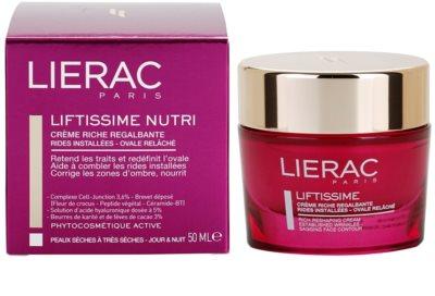 Lierac Liftissime nährende remodellierende Creme für trockene bis sehr trockene Haut 3