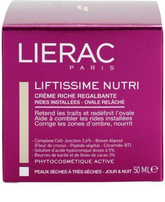 Lierac Liftissime nährende remodellierende Creme für trockene bis sehr trockene Haut 4