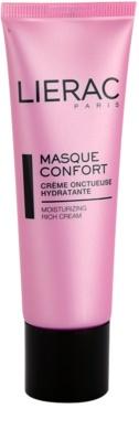 Lierac Masques & Gommages máscara hidratante e nutritiva para pele seca