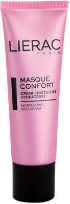 Lierac Masques & Gommages зволожуюча та поживна маска для сухої шкіри