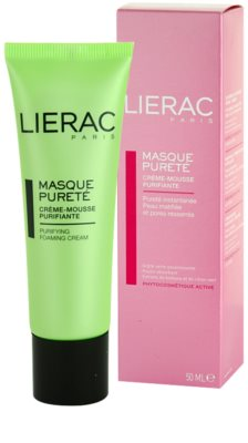 Lierac Masques & Gommages máscara para pele normal a mista 1