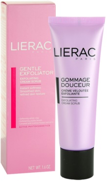 Lierac Masques & Gommages крем-пилинг 1