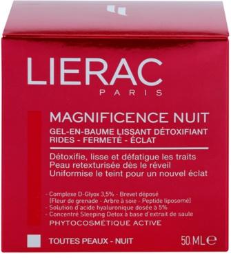 Lierac Magnificence noční detoxikační a vyhlazující gel-balzám 3