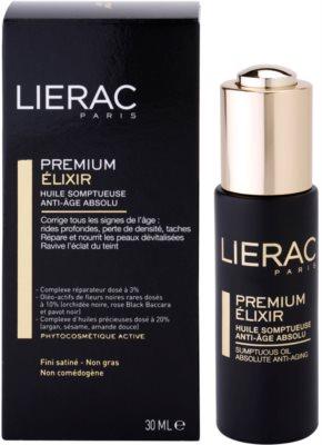 Lierac Premium elixir luxuoso com óleos hidratantes anti-idade de pele 1