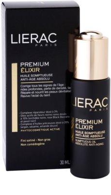 Lierac Premium elixir con aceites esenciales nutritivos antienvejecimiento 2