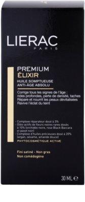 Lierac Premium elixir con aceites esenciales nutritivos antienvejecimiento 3
