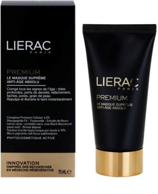 Lierac Premium pomlajevalna maska za obraz s takojšnim učinkom 1