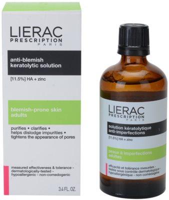 Lierac Prescription tónico limpiador facial  para pieles problemáticas y con acné 1