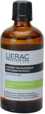 Lierac Prescription čistilna voda za obraz za problematično kožo, akne