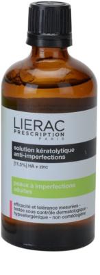 Lierac Prescription tónico limpiador facial  para pieles problemáticas y con acné