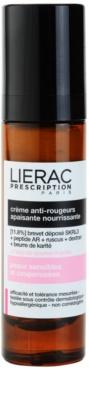 Lierac Prescription успокояващ и подхранващ крем за чувствителна кожа със склонност към почервеняване