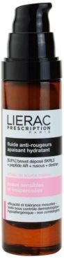 Lierac Prescription заспокоюючий та зволожуючий флюїд для чутливої шкіри схильної до почервонінь 1