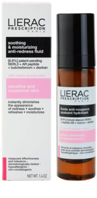 Lierac Prescription заспокоюючий та зволожуючий флюїд для чутливої шкіри схильної до почервонінь 2