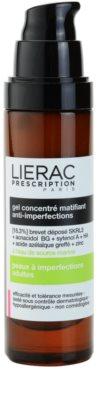 Lierac Prescription matirajoči koncentrirani gel za problematično kožo, akne 1