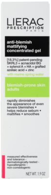 Lierac Prescription matirajoči koncentrirani gel za problematično kožo, akne 3