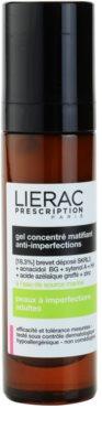 Lierac Prescription mattító gél koncentrátum problémás és pattanásos bőrre