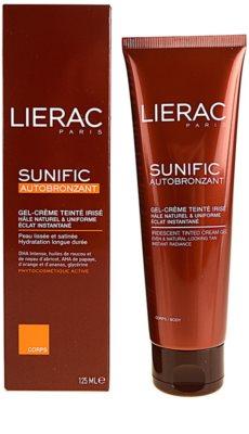 Lierac Sunific Autobronzant gel crema autobronzant 1