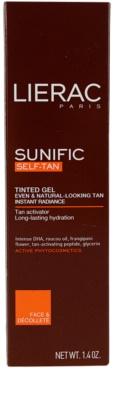 Lierac Sunific Autobronzant gel autobronzant 2