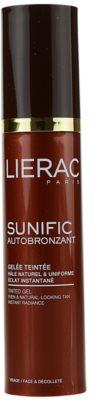 Lierac Sunific Autobronzant önbarnító zselé