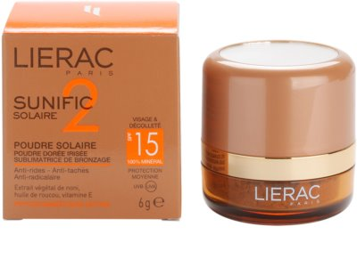 Lierac Sunific 2 pó bronzeador SPF 15 3