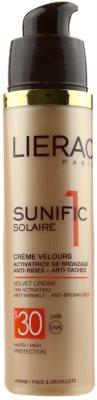 Lierac Sunific 1 Sonnencreme gegen Hautalterung SPF 30 1