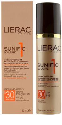 Lierac Sunific 1 Sonnencreme gegen Hautalterung SPF 30 2