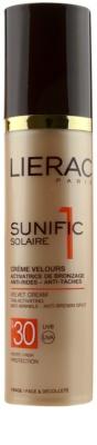 Lierac Sunific 1 przeciwstarzeniowy krem do opalania SPF 30