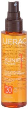 Lierac Sunific 1 олійка для засмаги SPF 30 1