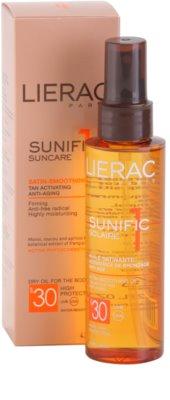 Lierac Sunific 1 олійка для засмаги SPF 30 3