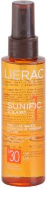 Lierac Sunific 1 aceite bronceador SPF 30