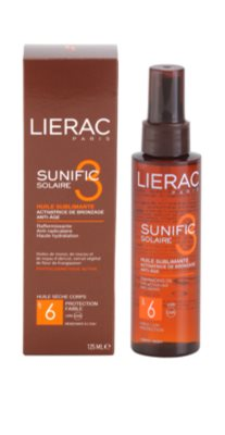 Lierac Sunific 3 олійка для засмаги SPF 6 2