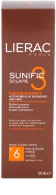 Lierac Sunific 3 Sonnenöl SPF 6 4